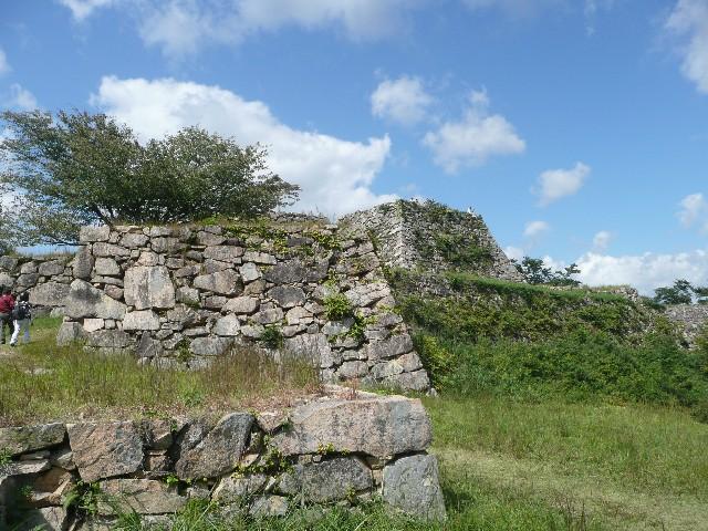 竹田城跡の石垣