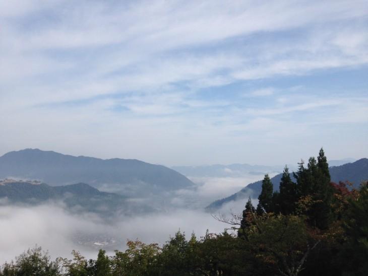 竹田城跡 景観